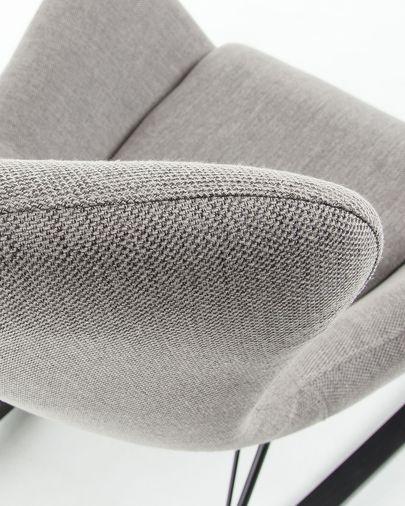 Vania Schommelstoel grijs