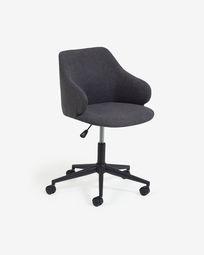 Einara dark grey office chair