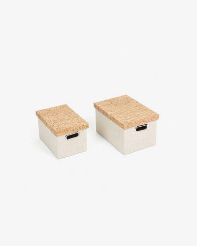 Conjunto Kylie de 2 caixas