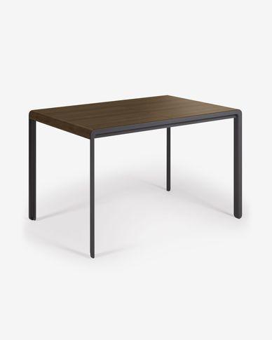 Tavolo allungabile Nadyria 120 (160) x 80 cm finitura noce
