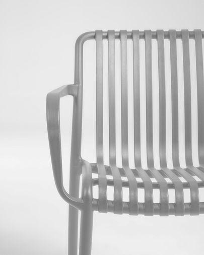 Krzesło ogrodowe Isabellini jasnoszare