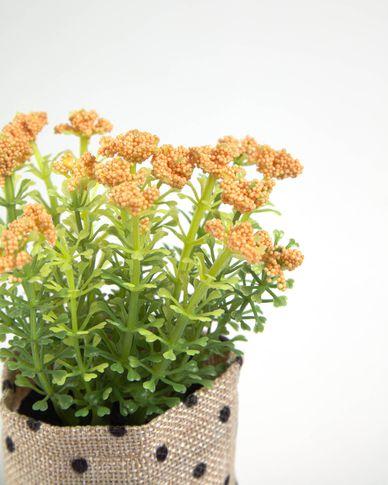 Kunstplant Leonitis leonurus in raffia pot