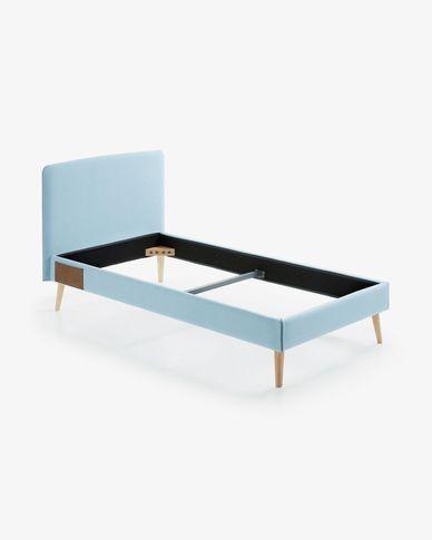 Capa de colchão Dyla 90 x 190 cm azul claro