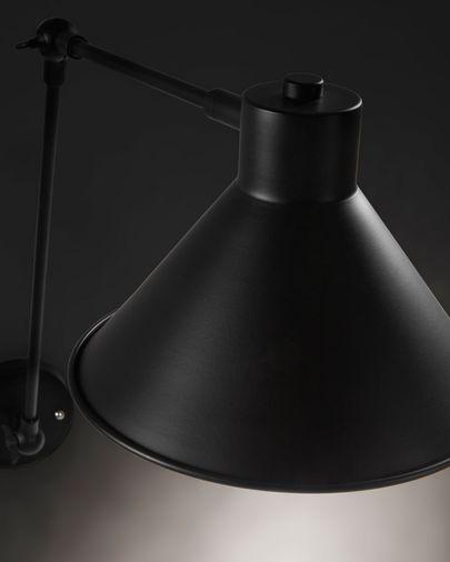Lampada da parete Dione nero
