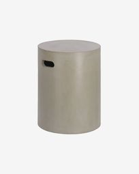 Jenell cement stool, 35 cm