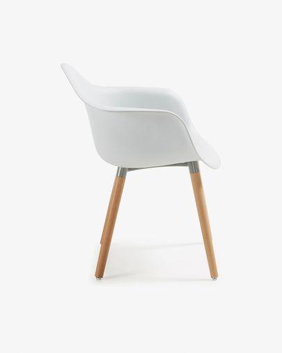 Sedia Kevya bianco