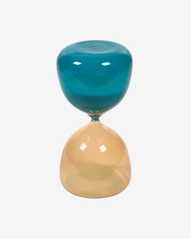 Brandina yellow and blue hourglass 14 cm