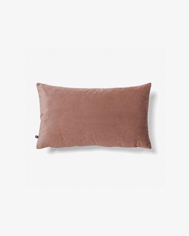 Fodera cuscino Lita 30 x 50 cm velluto rosa