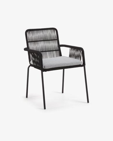 Black Samanta chair