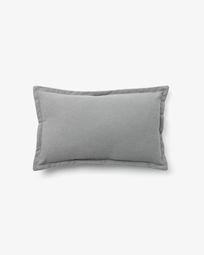 Lisette cushion cover 30 x 50 cm in grey