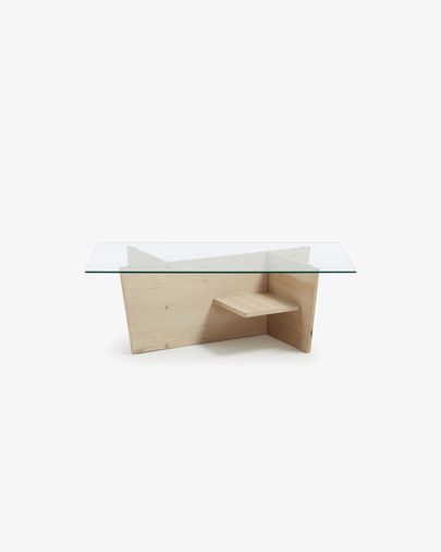 Rechthoekige middentafel Balwind  110 x 60 cm