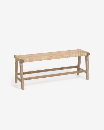 Banc Beida fusta massissa teca 120 cm