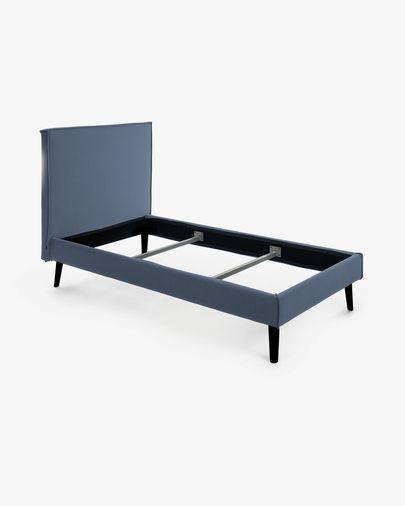 Bed Venla 140 x 190 cm blauw