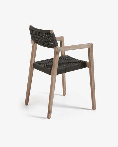 Cadira Vetter gris fosc