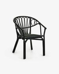 Ganga Sessel, schwarz