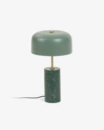 Lámpara de sobremesa Videl de metal y mármol
