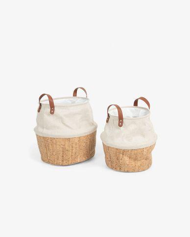 Set of 2 Kylie baskets