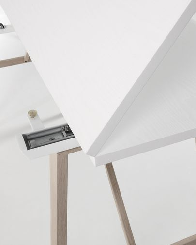 Consola taula extensible Aruna 130 x 45 (90) cm