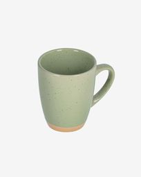 Tilla ceramic cup in light green