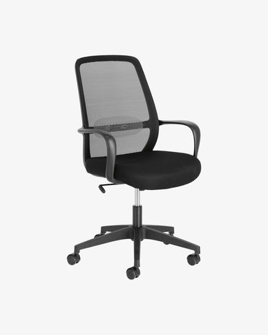 Cadira d'escriptori Melva negre