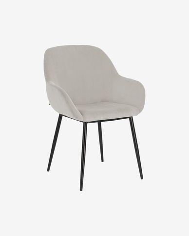 Cadira Konna pana gris