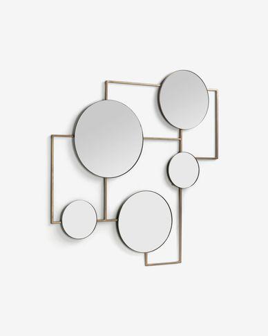 Specchio Platte 81 x 83 cm