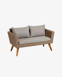 Sumie 2-seater sofa 134 cm (100% FSC)