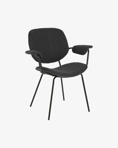 Naiquen dunkelgrauer Stuhl