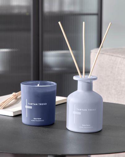 Tartan Trend diffuser with sticks