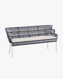 Blue Robyn bench 160 cm