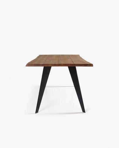 Koda table 180 cm antique oak black legs