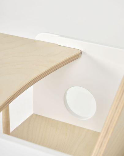 Nuun Tablett, für Nuun Stuhl, Birkenfurnier