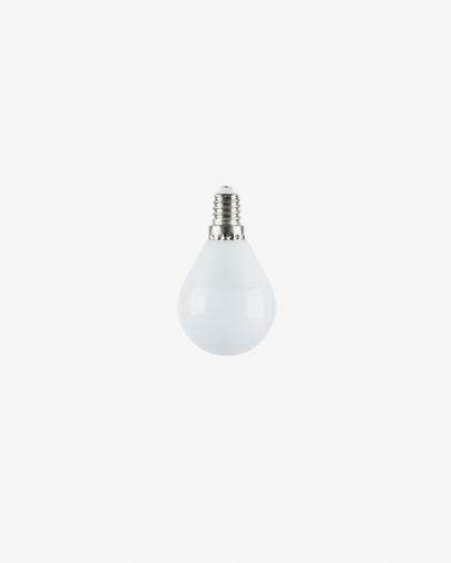 Lâmpada LED Bulb E14 de 4W e 45 mm luz neutra