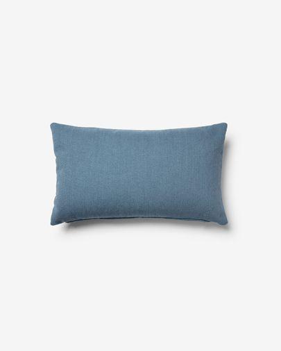 Funda cojín Kam 30 x 50 cm azul