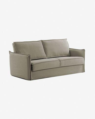Sofà llit Samsa 160 cm visco beix