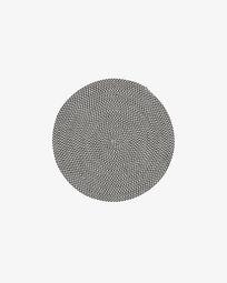 Rodhe Ø 100 cm Teppich, grau