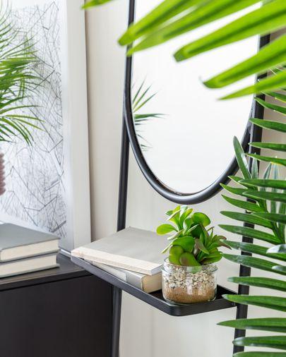 Espejo Zelma de acero 41 x 184 cm