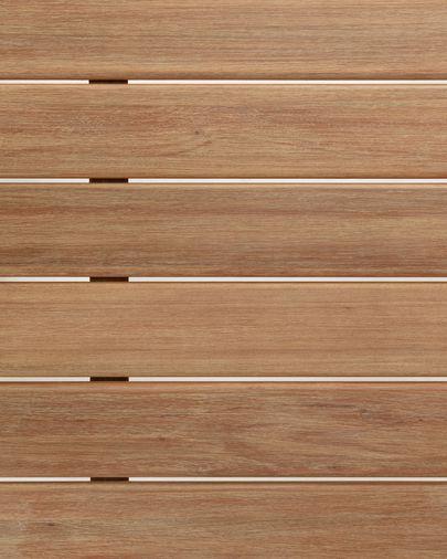 Mesa Simja 160 x 90 cm madera maciza de eucalipto