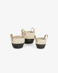 Set of 3 baskets Kacey