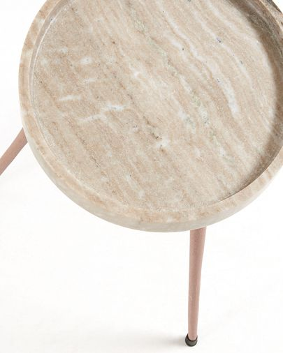 Beige Rubie Ø 32 cm side table