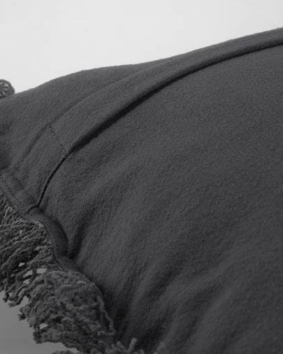 Funda cojín Shallow gris 45 x 45 cm