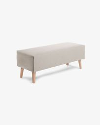 Beige bench cover Dyla