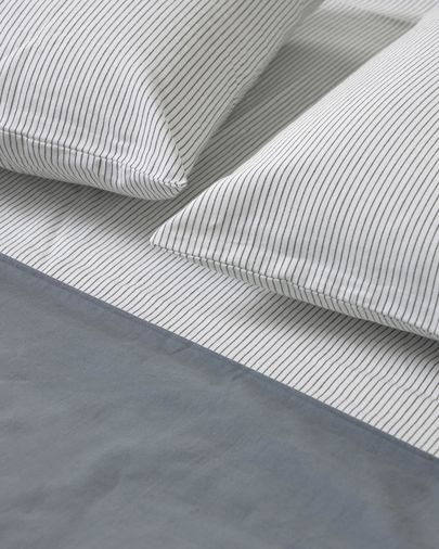Mariel bedding set duvet cover, fitted sheet, pillowcase 180x200cm organic cotton (GOTS)
