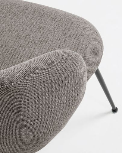 Cadeira Minna cinza claro