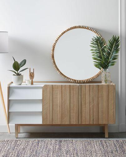 Polke mirror Ø 85 cm