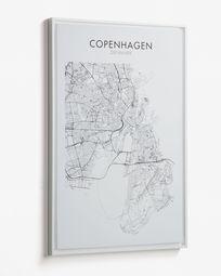 Tableau Uptown 50 x 70 cm Copenhague