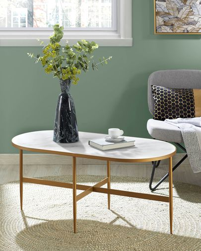 Tavolino da caffè Elisenda 100 x 50 cm