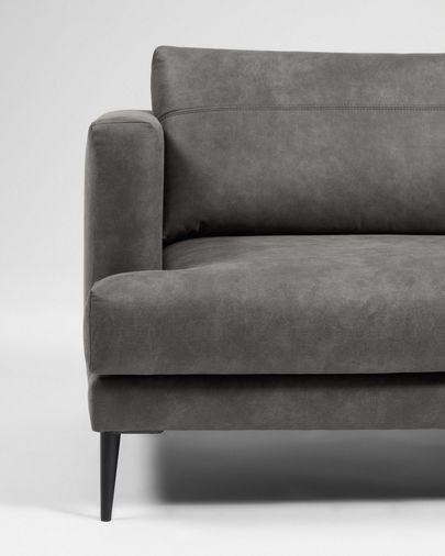 Tanya 2-Sitzer Sofa gepolstert in dunkelgrau 183 cm