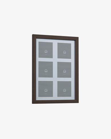 Cornice Luah 28 x 39 cm con finitura scura
