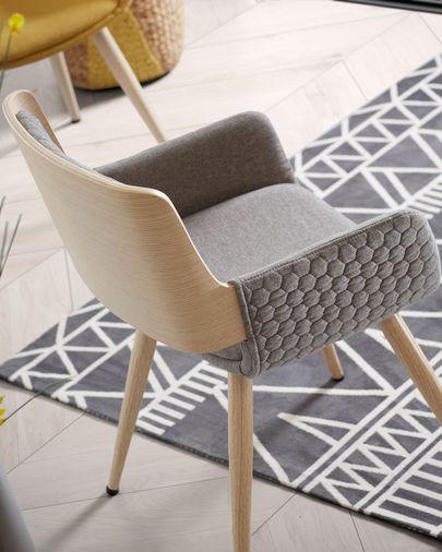 Cadira Angie gris clar